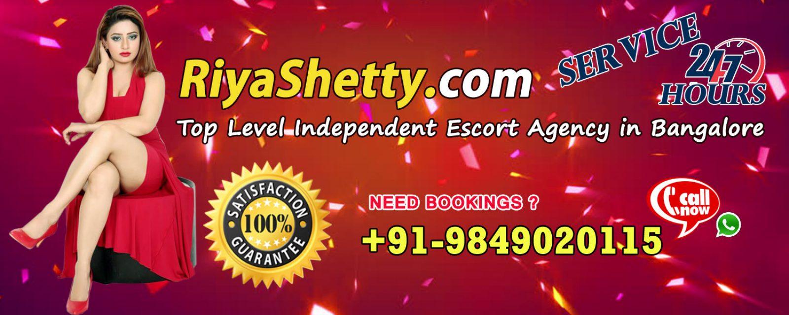 Riya Shetty Independent Bangalore Escorts at Your Service 24/7 Outcalls
